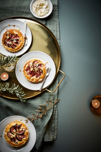 02.Waitrose Food Magazine Rick Stein fig tarts 1